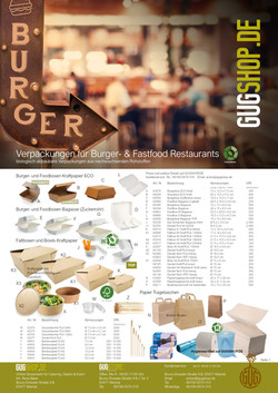 BURGER & FASTFOOD VERPACKUNGEN