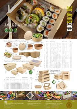 Sushi & Salat