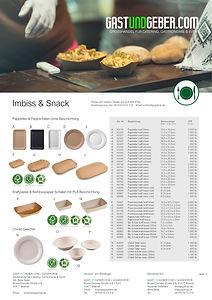 Pappteller braun, weiss, schwarz, Pommesschalen, Chinet Einweggeschirr | GUGSHOP.DE | GASTUNDGEBER.COM | GUG