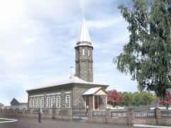 Реставрация мечети в Куюргазинском районе