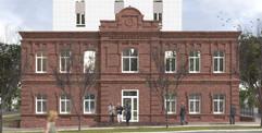 Воссоздание пристроя жилого комплекса на Кустарной