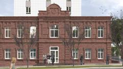 Воссоздание пристроя жилого комлекса на Кустарной