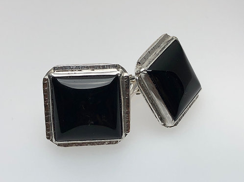 Onyx Cufflinks (Square)