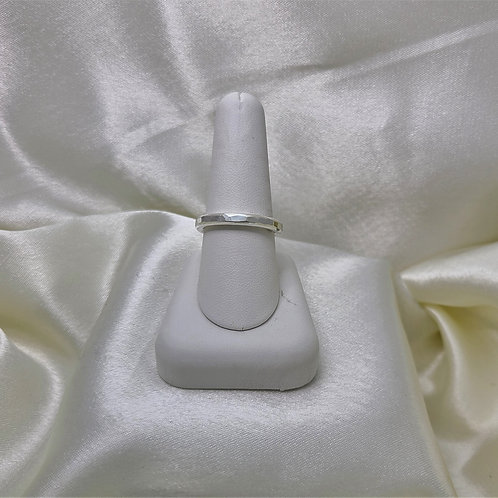 Fine Silver 8 Gauge Ring