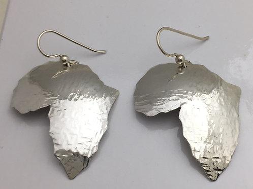 Fine Silver Africa Earrings