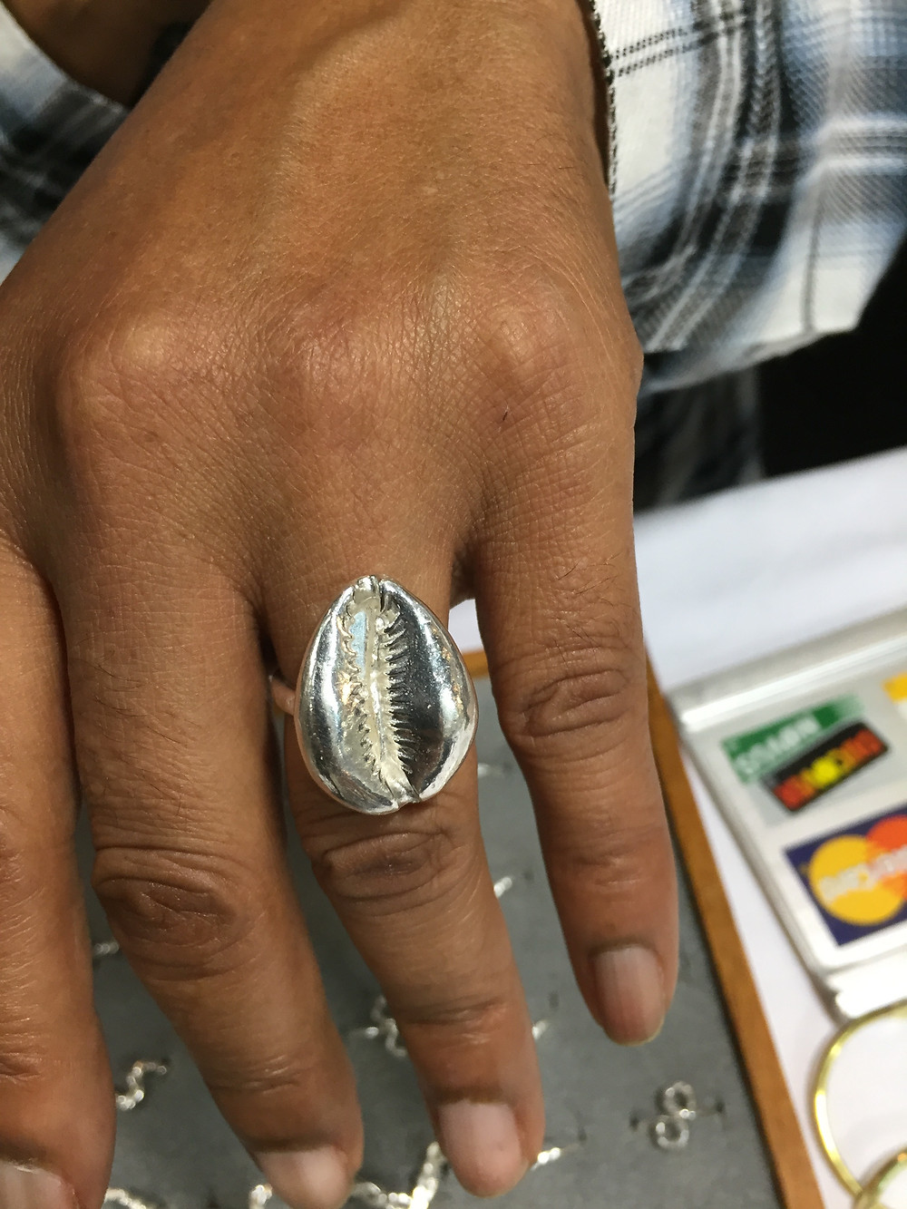 """""""This ring called to me"""" Stated a satisfied purchaser"""