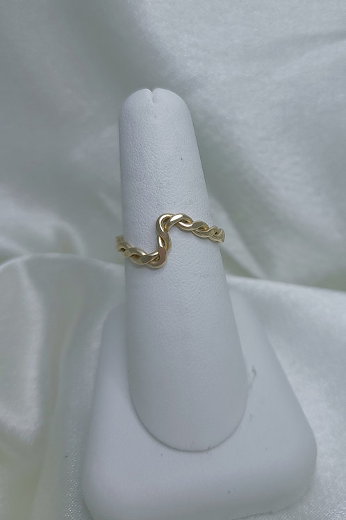 Gold Fill Twist Ring