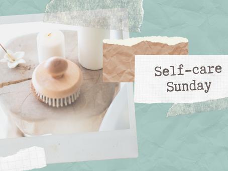 Knitting and Self-care Sunday