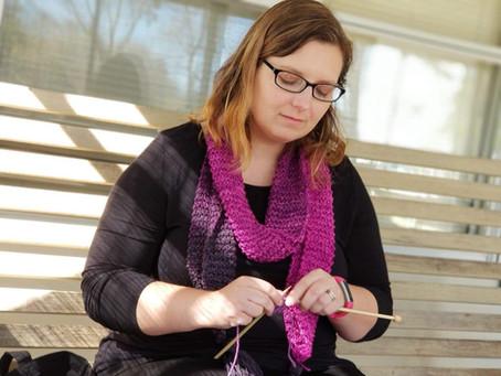 Knitting Through the Storm