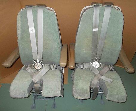Weber cockpit seats from 727-200, 737-200, pilot seats, pilot seats for sale