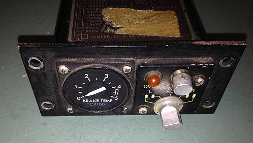 MD-80 Brake Temp Gauge