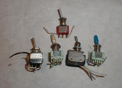 Mini Toggle Switches ($20 set of 5)