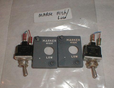 Marker Selector Assemblies 737