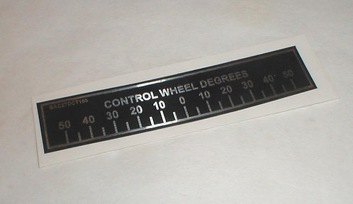 Boeing Control Wheel Decal