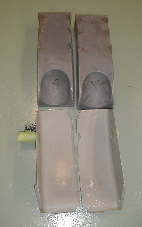 737 Rudder Pedal Canoes