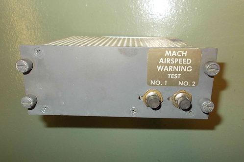 737 Mach Airspeed Warning Test