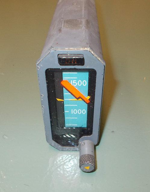 Tape radio altimeter, cockpit sim parts for sale