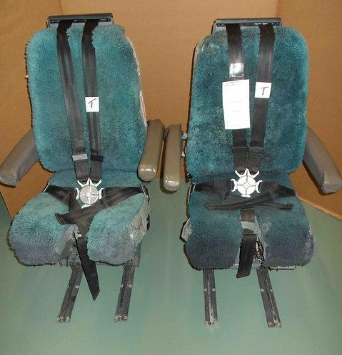737 IPECO Straight Rail Cockpit Seats, cockpit seats for sale