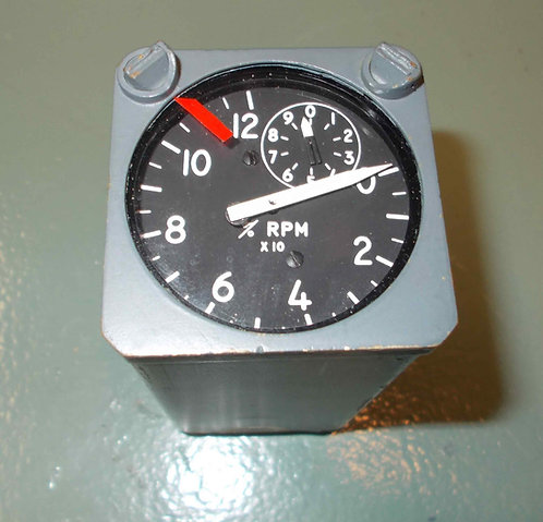 DC-8 aircraft tachometer instruments sim parts