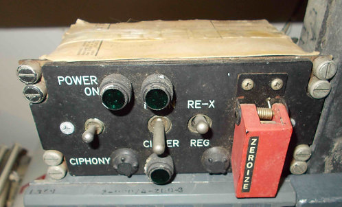 C-8157 control head from a KY-28 Crypto radio system