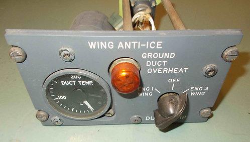 727 Wing Anti-Ice Module cockpit sim parts
