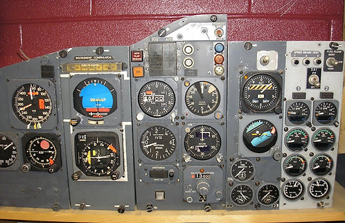 Full Main Instrument Panel 737-200