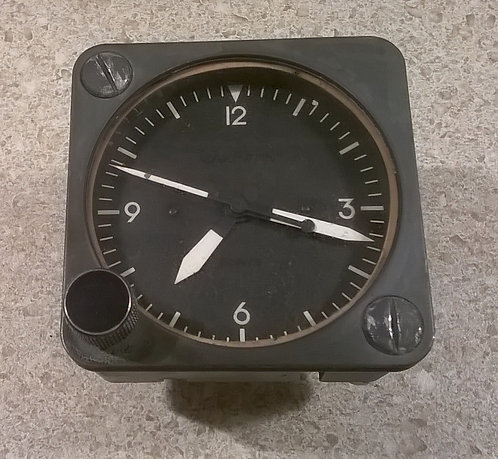 Wakmann 2-inch Cockpit Clock, cockpit sim parts for sale