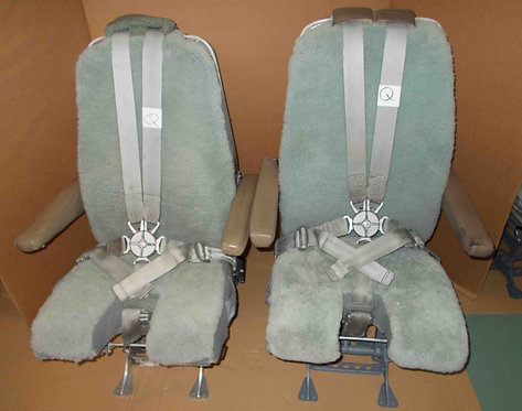 Weber cockpit seats from 727-200, 737-200, pilot seats, pilot seats for sale