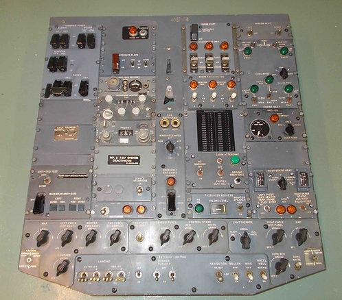 727 Overhead Panel, cockpit sim parts for sale