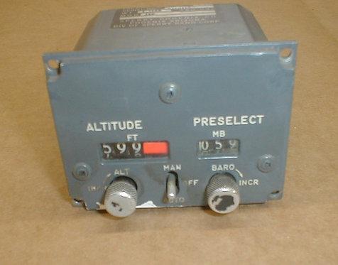 Altitude Pre-Select Module