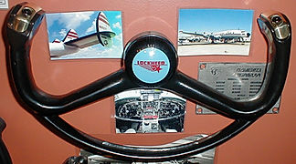 aviation control wheels, cockpit memorabilia, aviation memorablila