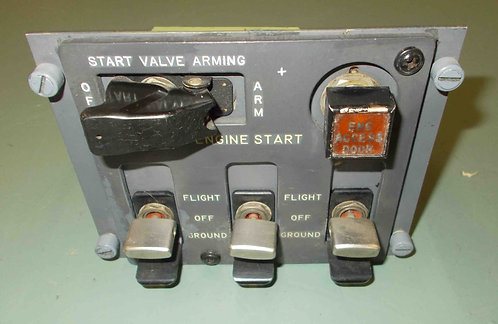727 Engine Start Panel, aircraft sim parts for sale
