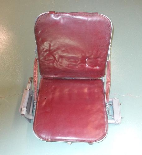 DC-6 DC-7 Second Officer's Cockpit Seat, pilot seats, pilot seats for sale