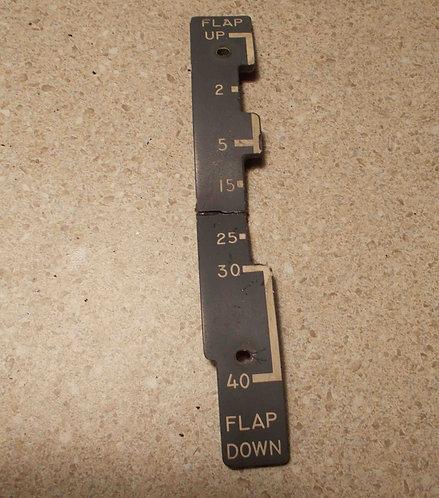 727 Throttle Quadrant Flap Bezel