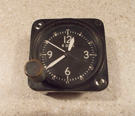 Vintage cockpit clocks, aircraft clocks, aviation clocks, cockpit clocks