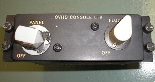 MD-80 Overhead Panel Rheostat Module