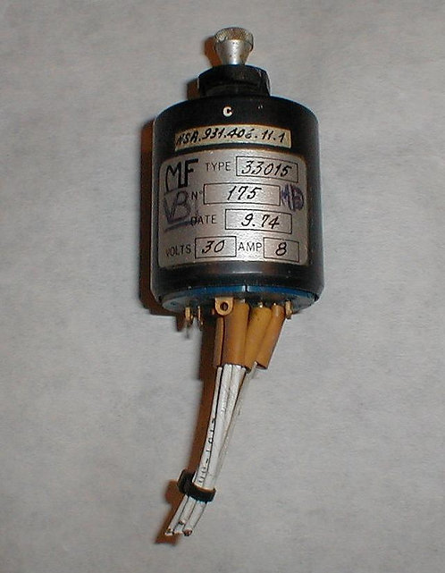 Airbus Toggle Switch