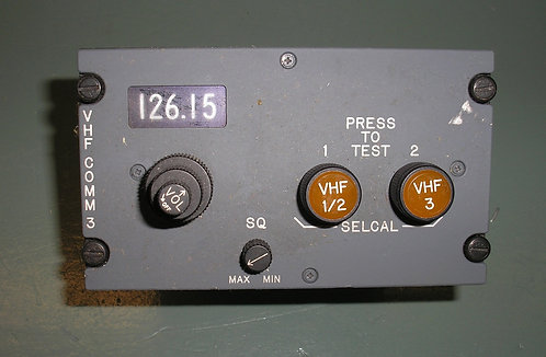 737 Com/Selcal Panel