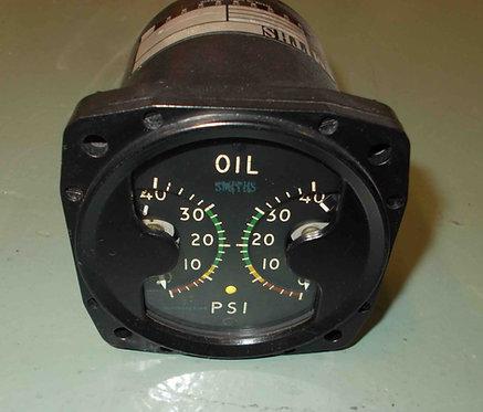 Dual Oil Pressure Indicator, sim parts for sale