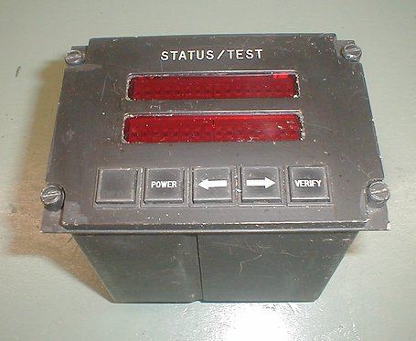 MD-80 Status Test Panel