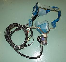 airline oxygen masks, cockpit oxygen masks, smoke goggles