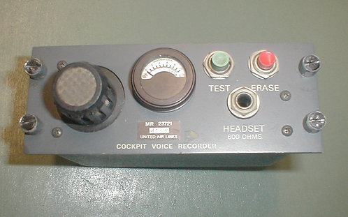 Generic Cockpit Voice Recorder Modules