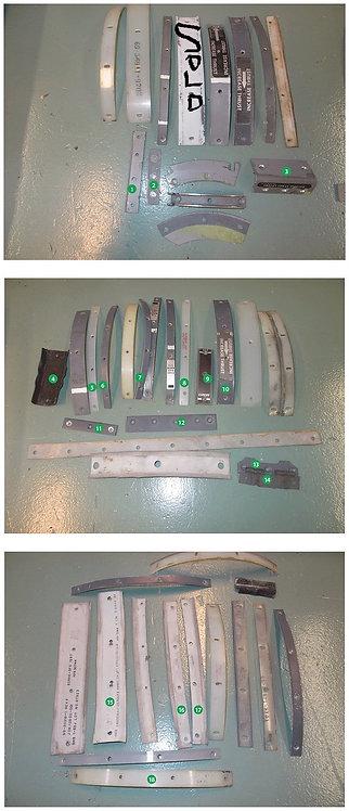 727/737 Throttle Quadrant Parts (ask for price)