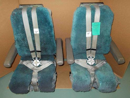 737 IPECO J Rail Cockpit Seats, pilot seats for sale