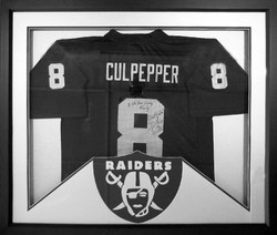 Framed Football Jersey