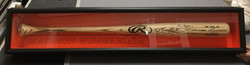 Framed Baseball Bat