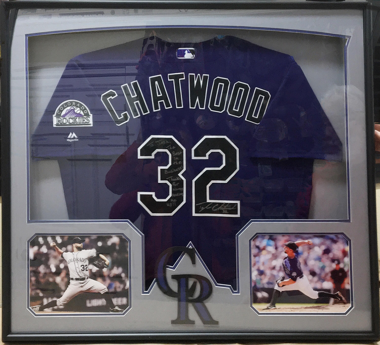 Framed Baseball Jersey