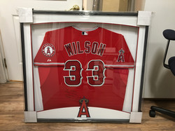 Framed Baseball Jersey