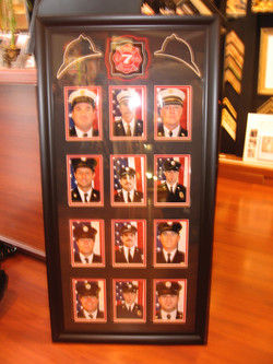 Framed Firefighter Photos