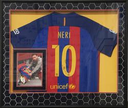 Framed Soccer Jersey